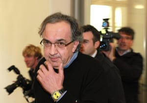 In 2009, Marchionne visited Berlin in a failed attempt to merge with German carmaker Opel.