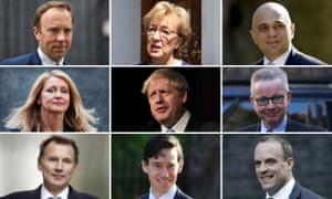 The Tory leadership candidates