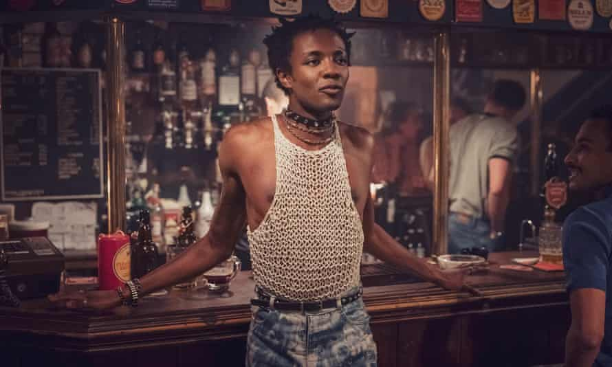 Hunger for excitement … Omari Douglas as Roscoe in the Channel 4 series It's a Sin.