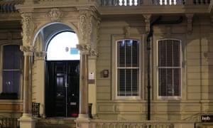 The Grosvenor Gardens address of Orbis Business Intelligence, run by former British MI6 agent Christopher Steele.