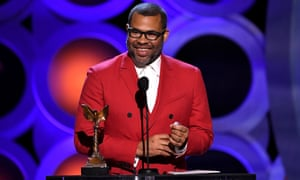 Jordan Peele, who won best director for Get Out.