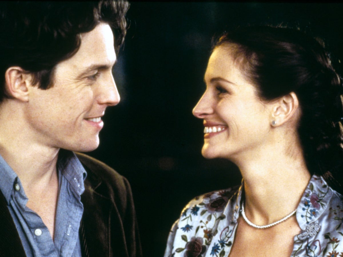 "Hugh Grant and Julia Roberts in ""Notting Hill""."