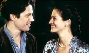 Hugh Grant and Julia Roberts in Notting Hill.