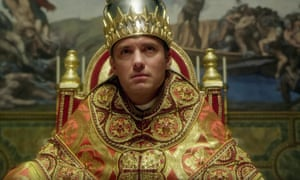 Distinctly secular? Jude Law plays the first American Pope.
