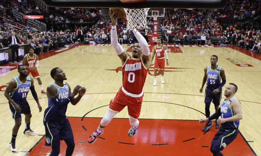 Will Small Ball Eventually Put An End To The Nba 7 Footer Houston Rockets The Guardian