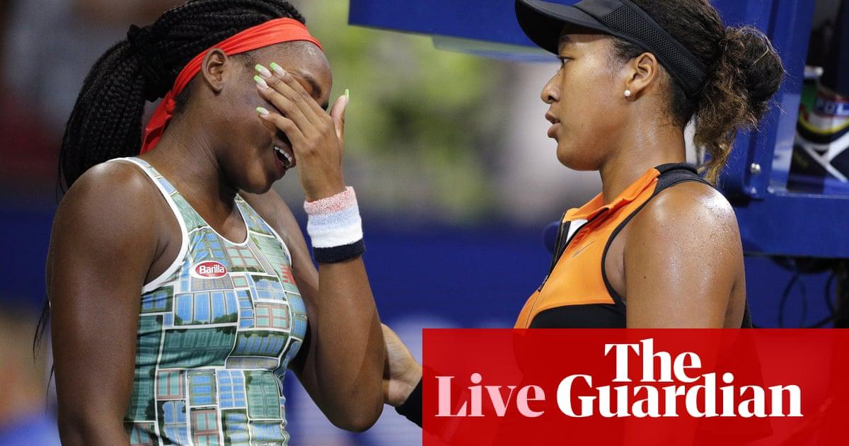 Australian Open: Naomi Osaka v Coco Gauff, Roger Federer and more – live!