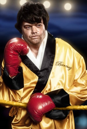 Raymond van Barneveld as Rocky Balboa
