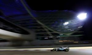 Rosberg leads.