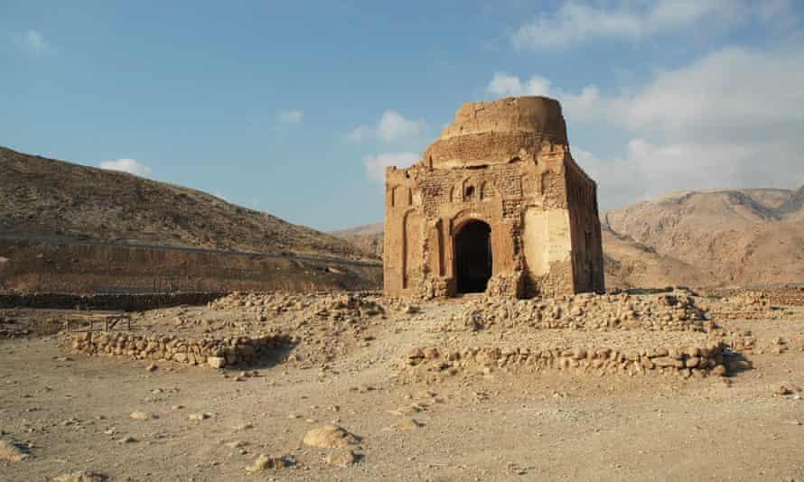 The Bibi Maryam mausoleum in the ancient city of Qalhat, Oman