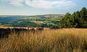View from the edge of Erringden Moor, above Mytholmroyd.