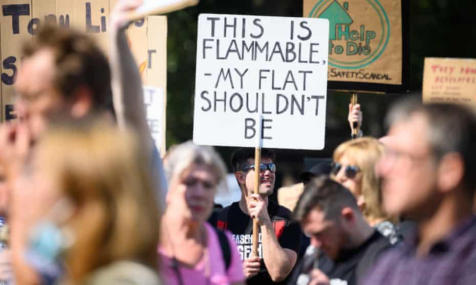 Cladding protest