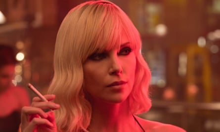 Charlize Theron in Atomic Blonde.