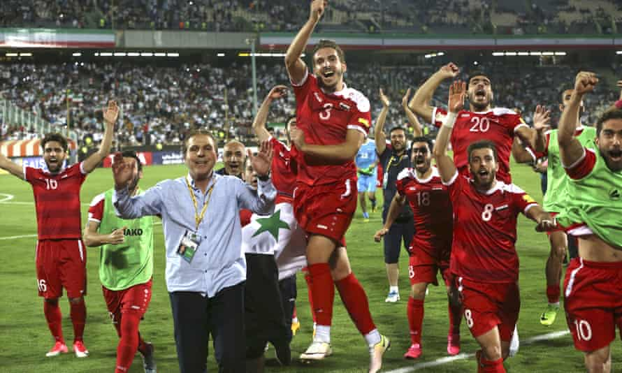 Syria's football team operate on a tiny budget and are shackled by security concerns that deny them home games.