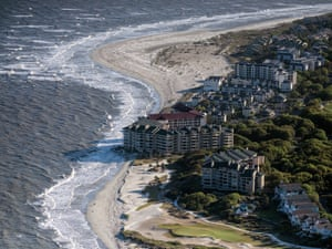 The ocean is threatening beachfront condos on the Isle of Palms