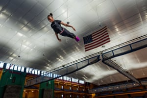 Gymnast Ty-La Morris, 12, trains at the Wendy Hilliard gymnastics foundation, which offers free and discounted classes for children in Detroit and New York.