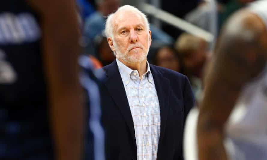 Gregg Popovich is a five-time NBA champion