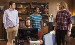 Cast members of Silicon Valley