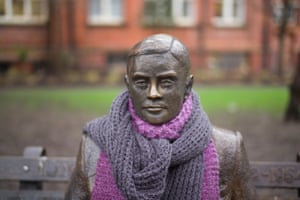 Manchester, England A statue of Alan Turing
