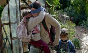 Sandra Bullock stars in the post-apocalyptic Netflix film Bird Box.