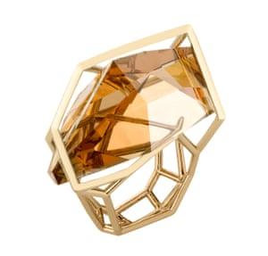 Ring, £200, by Swarovski.
