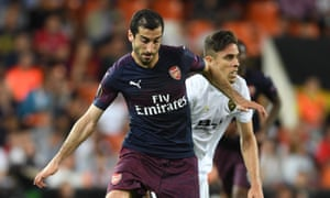 Arsenal's Henrikh Mkhitaryan is from Armenia, which has no diplomatic relations with Azerbaijan.