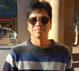 Ricky Masculino, who settled in Warwick with his wife Nora and children seven years ago from the Philippines.