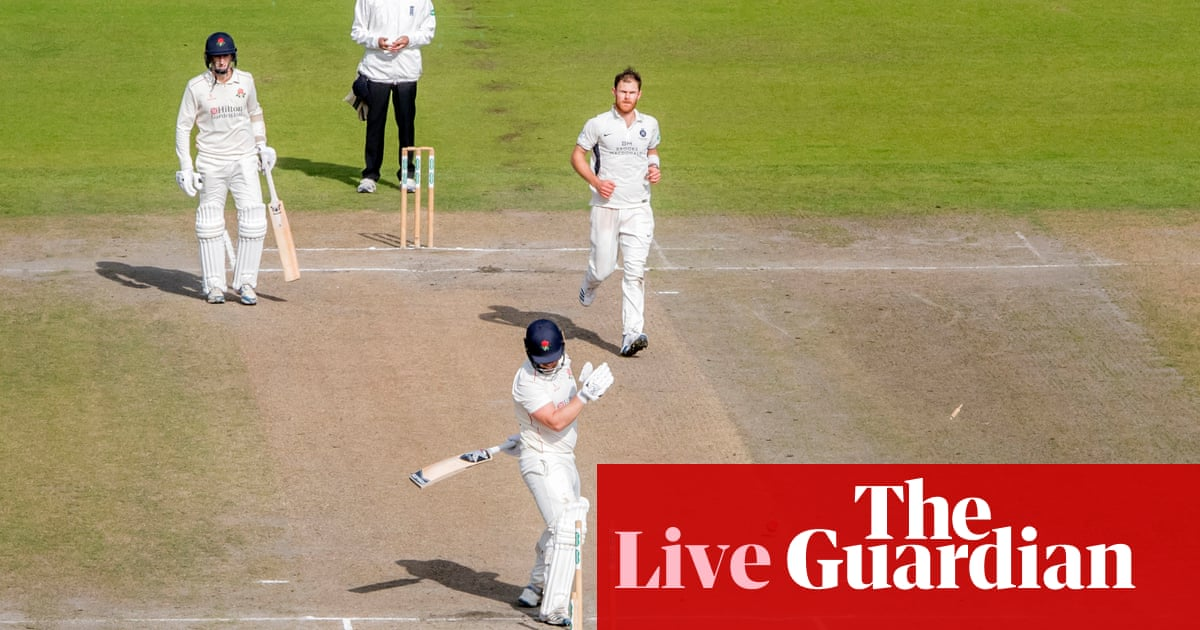 County cricket: Kent beat Yorkshire by 433 runs, Lancashire v Middlesex – live!