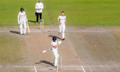 County cricket: Kent thrash Yorkshire, Lancashire beat Middlesex by 104 runs – live!