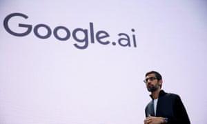 The future is AI … Google CEO Sundar Pichai at the I/O developer conference
