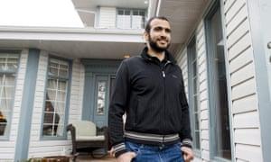 Omar Khadr in Edmonton, Alberta