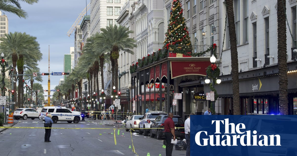 New Orleans shootings leaves two dead and 10 injured, police say