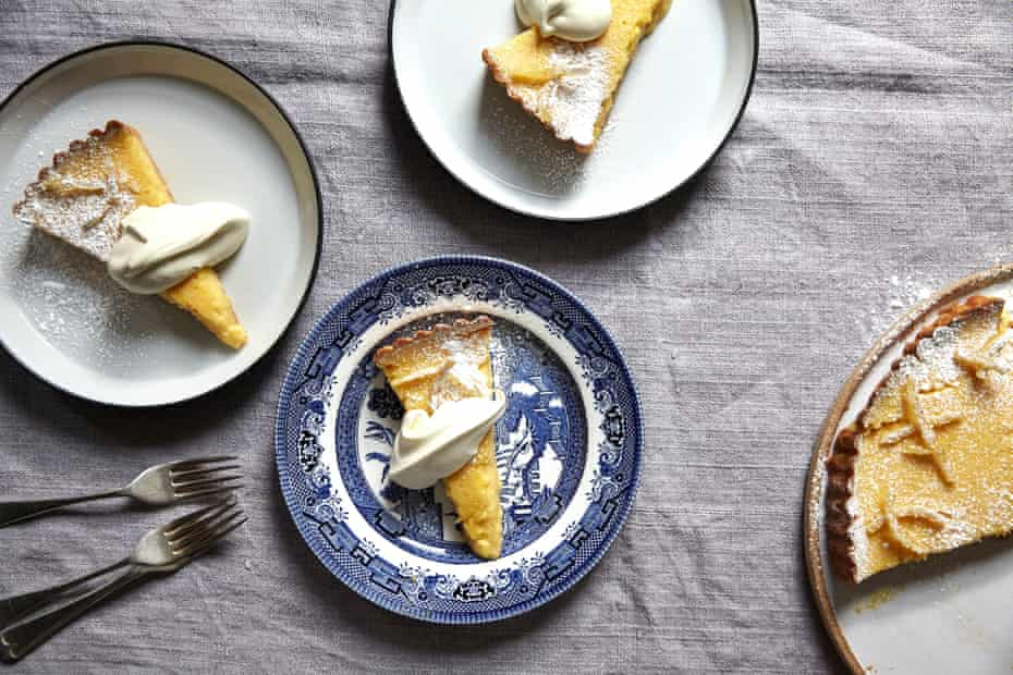 Jeremy Lee's lemon tart.