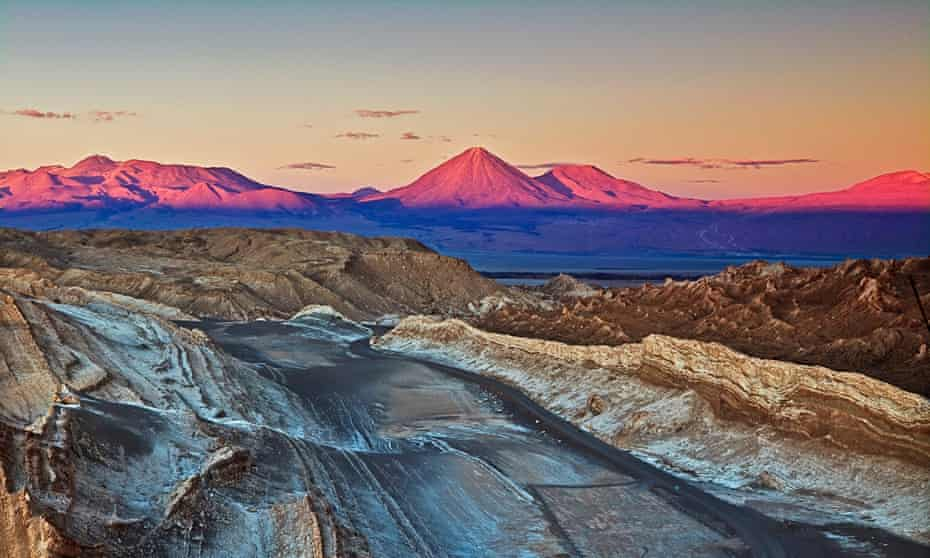 Valley of moon (valle de la Luna), Chile.