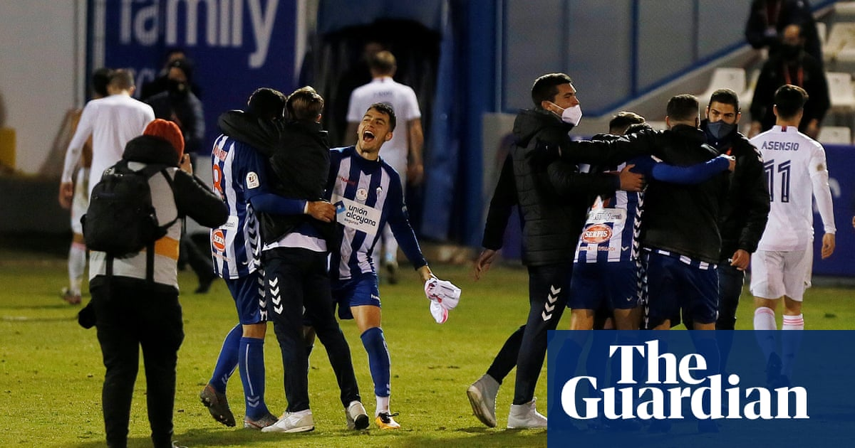 Once in a lifetime: Alcoyano rock Real Madrid as worlds collide   Sid Lowe