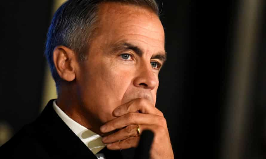 Mark Carney governor of the Bank of England