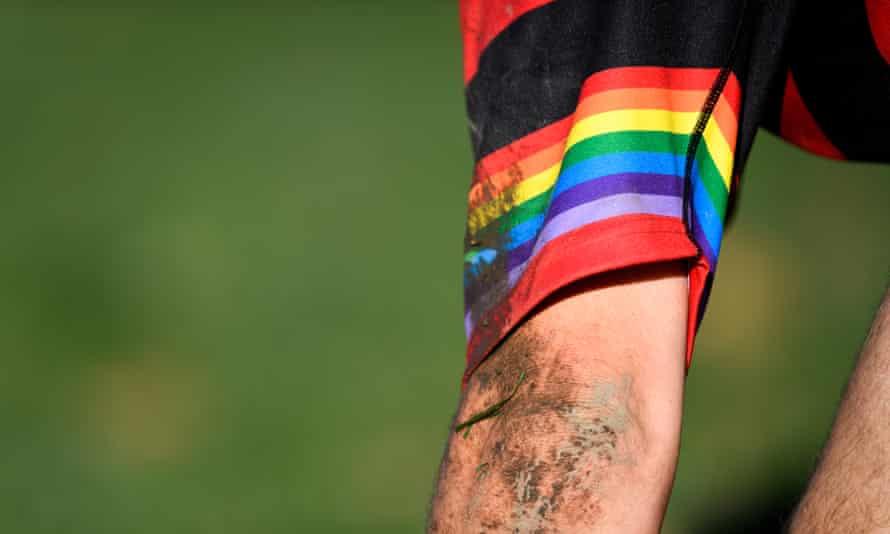 A rainbow sleeve