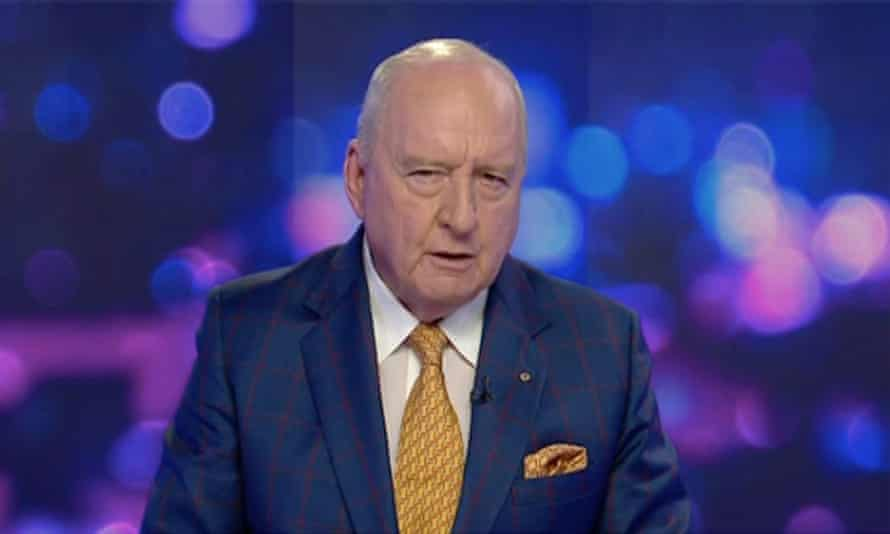 Screengrab of Alan Jones on Sky News