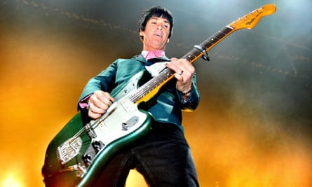 Johnny Marr plays at the O2 Apollo Manchester in 2014.