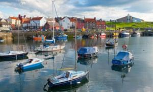 Victoria harbour, Dunbar, East Lothian.