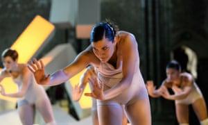 Soon turns biological … Contagion, by Shobana Jeyasingh Dance.