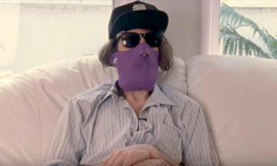Norm Lubow in the documentary Kurt and Courtney.