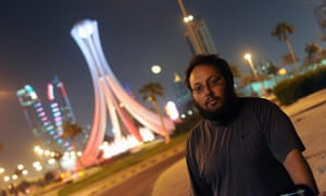 The US journalist Steven Sotloff - later beheaded by Isis –  in Bahrain