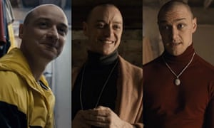 Split review – James McAvoy is 23 shades of creepy in M