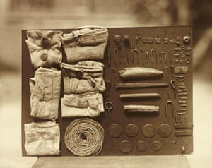 Peckish … Frederick William Bond's Contents of an Ostrich's Stomach.