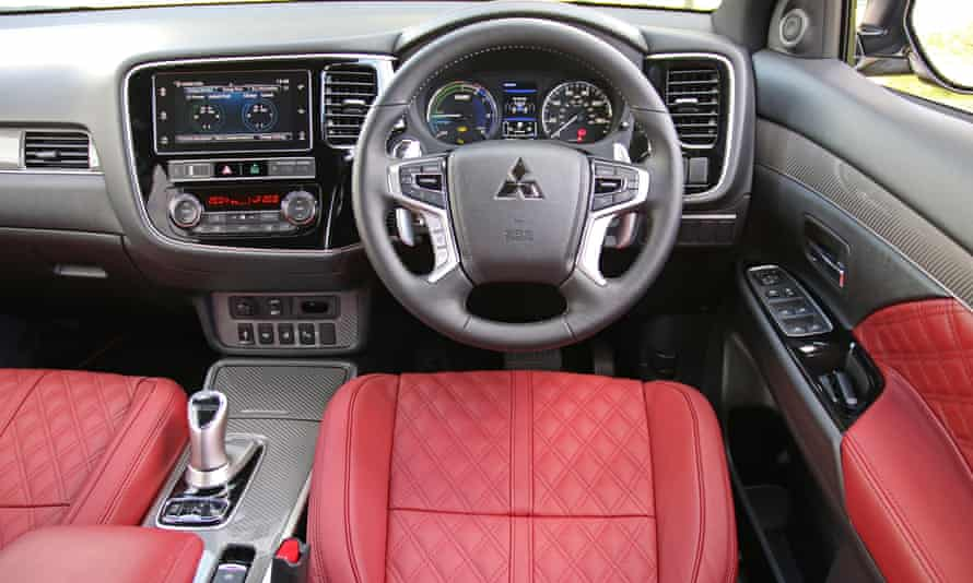 Inside story: the comfortable interior of the Outlander