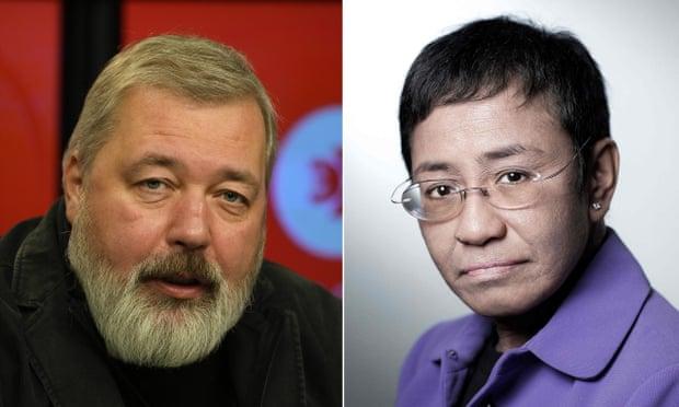 Nobel peace prize,Maria Ressa,Dmitry Muratov,2021 Nobel peace prize,Berit Reiss-Andersen,harbouchanews