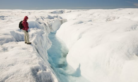 New research shows the world's ice is doing something not seen before