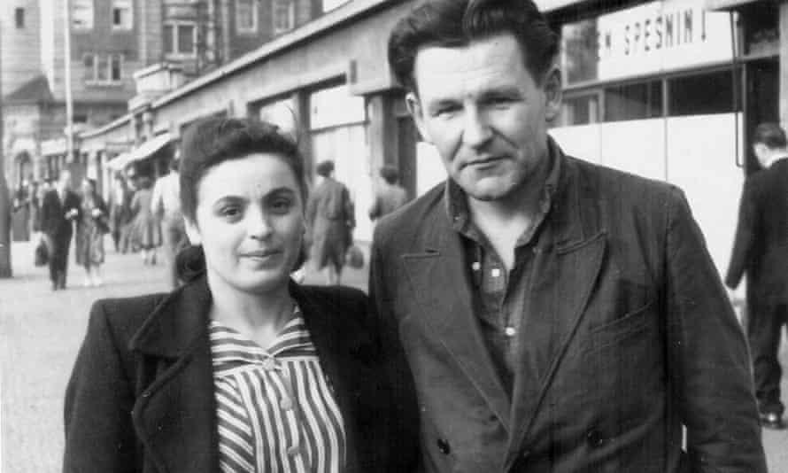 Auschwitz survivor Cecilia Kovachova and her husband Ivan, who met in a Soviet gulag, after their release in 1957.
