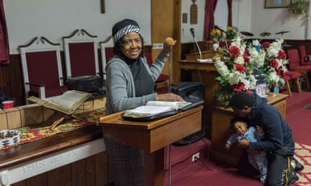 Pastor Jean Smith.