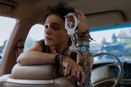 'I watched videos of feral cats and went off them' … Sasha Lane as Jessica Hyde in the reboot.